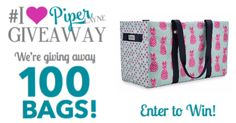 I just entered to WIN one of the 100 Bags Piper Layne is Giving Away on Nov 3rd during their Official Launch.