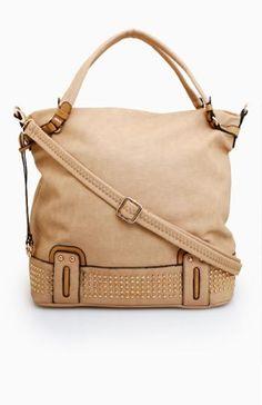 Studded Base Handbag