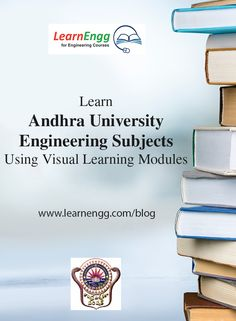 A visual demonstration of topics from Andhra University - 1st year.   To know more. [Click on image]  #learnengg #engineering