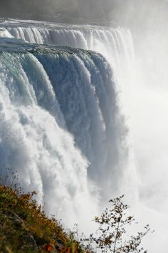 Niagara falls. Another view. If you have never been here you have to go. To stand next to this POWERFUL waterfall was a spiritual experience for me. The creation of our God amazes me.