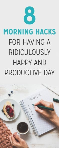 Research shows that people who arrive at work in good spirits stay that way throughout the day, while also being more productive than their gloomier co-workers. Here are eight ways to start your day the happy way.