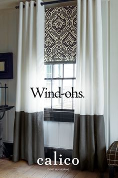 Get oohs and ahhs with Calico window treatments, from drapes to Hunter Douglas shades. Our free design consultants will tailor our thousands of options to your home's needs. Click to read more.