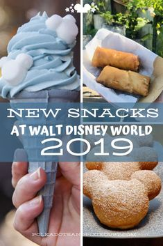 New Disney Snacks at Walt Disney World in 2019 have been arriving all year! Including all the new Arendelle Aqua Disney Snacks. Walt Disney World, Best Disney World Food, Disney World News, Disney World Restaurants, Disney World Tips And Tricks, Disney Tips, Disney World Vacation, Disney Vacations, Disney Worlds