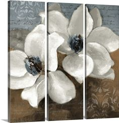 magnolia canvas art