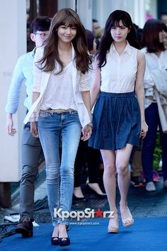 Girls\ Generation(SNSD) Sooyoung, Seohyun Attend TOMMY HILFIGER \