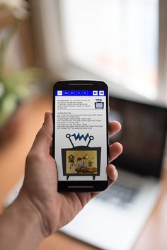 Web design & web development - mobile view