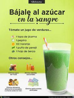 Hábitos Health Coaching   JUGO DE VERDURAS BÁJALE AL AZÚCAR EN LA SANGRE