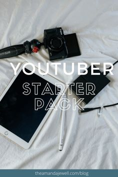 How To Start a YouTube Channel in 2020 — Amanda Jewell Best Vlogging Camera, New Moon Rituals, Making A Vision Board, Crystal Guide, You Youtube, Youtube Hacks, Video Editing, How To Make Money, Make Money From Home