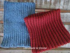 Handmade by Simone: Gola em tricô - Passo a passo (PAP)