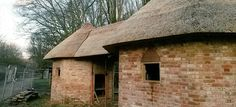 Beautiful thatching completed on our ornamental Georgian dairy  from Eastwick Park near Bookham. #thatch #thatching #heritage #dairy #Georgian #museum #Sussex #Chichester