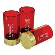 Wystrzałowe kieliszki jak naboje do szotguna / 12 Gauge Shot Glass.