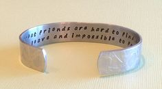 Bridesmaid / Friend gift  truly great friends by DandLDesigns4U  Got this as a grad gift for our daughter's girlfriends!