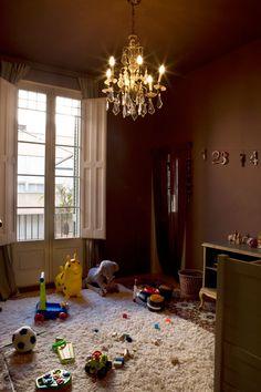 chocolate playroom