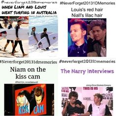 #neverforget20131dmemories Bromaces (: