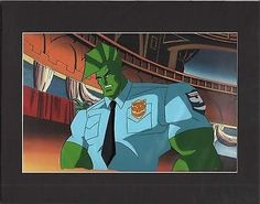 Savage Dragon Production Animation Cell Universal 1995-6 2*