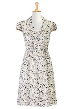 1950s , 1960s, 50s style, 60s style, A-line, back-elastic, below-knee-length, business-casual, crepe, day, fall, fashion, feminine, festive, fit-and-flare, fit-and-flare-dresses, for-women, full-skirt, fun, holiday, ladylike, modest, plus-size, polyester, pretty, print, retro, romance, set-in-cap-sleeve, shawl-collar, shirtdresses , side-zip, sixties-style, v-neck, whimsy, work,dresses
