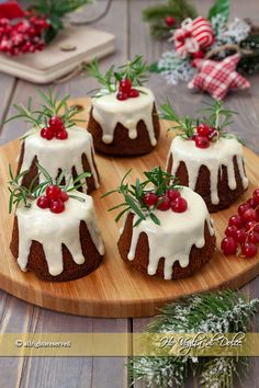 Easy Baking Recipes, Easy Appetizer Recipes, Cake Recipes, Christmas Sweets, Christmas Baking, Christmas Cakes, Winter Desserts, Cheesecake Desserts, Baking With Kids