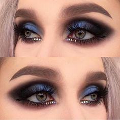 We are obsessed with this look using #Venus2 palette, perfect for #NYE! By @helenesjostedt