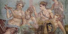 A ius osculiban, a csók jogában, amelyet a római férfiak adtak a nőknek, nem volt semmi romantika.A római lakomákon bőségesen fogyott a bor, ám a nők, akik jelen lehettek, nem fogyaszthatták. Törvény tiltotta a köztársaság és a császárság idején is. Több magyarázat is van arra, hogy miért hozták… Bor, Painting, Painting Art, Paintings, Painted Canvas, Drawings