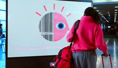 """This is a great demonstration of how technology in interactive billboards is pushing further ahead as big brands realise the potential to improve communication through digital. This billboard is part of IBM's """"smarter planet"""" campaign that aims to highlight the importance of smarter technology systems in business."""