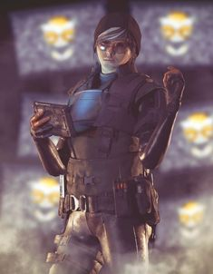 Read Femeninas Cap from the story Rainbow Six Siege by (-Angel-) with reads. Personajes femeninos y mas queridos. Rainbow Six Siege Dokkaebi, Rainbow 6 Seige, Tom Clancy's Rainbow Six, R6 Wallpaper, Female Armor, Ulzzang Korean Girl, Pose Reference, Drawing Reference, Wattpad