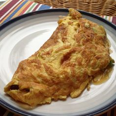 awesome and healthy breakfast for cold winter morning!!! omelet with onions, mushrooms and avocado!!!!