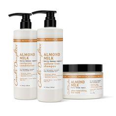 Almond Milk Daily Damage Repair Set