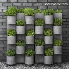 Modern Vertical Garden System Campania - Denver, CO   Creative Living clden.com  for hiding fences?