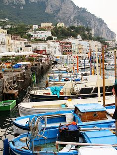 Capri, Italy- our honeymoon destination. Can't wait to go back one day.