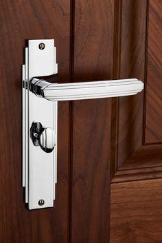 Metal door handle Large door handle with key hole Antique doorknob Home decor Soviet door handle 70s Door knob Interior Design