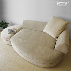 高さ57cmのロータイプソファー/3人掛けソファー。受注生産商品 曲線的なラインがおしゃれなデザインのカウチソファー カバーリングタイプの3Pソファー ECLIPSE-3P.C+オットマン(※クッション別売) Sofa Chair, Sofa Bed, Armchair, Home Deco Furniture, Living Room Kitchen, Decoration, Floor Chair, Living Spaces, Lounge