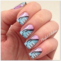 playfulpolishes #nail #nails #nailart