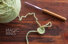 Crochet Stitches Adjustable Ring : The Dapper Toad: How To: Magic Ring (or Adjustable Loop)