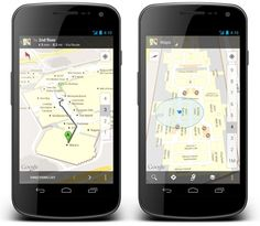 Google Indoor Maps, interactive venue map for mobile