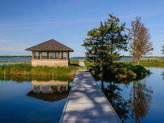 Le case delle star più costose del mondo - Passeggiata sul lago