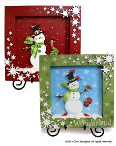 Wonderland Snowman Shadowbox E-Pattern Christmas Gifts For Women, Christmas Crafts, Christmas Decorations, Christmas Ornaments, Holiday Decorating, Christmas Blocks, Christmas Wreaths, Christmas Greenery, Christmas Party Games