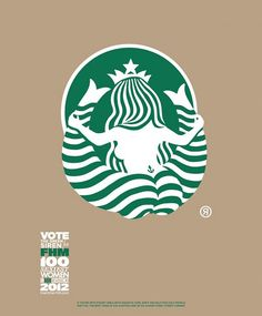 The Starbucks Logo From The Back Is Shocking