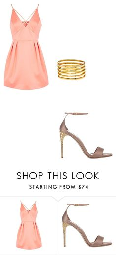 """""""Untitled #170"""" by iambeickyg on Polyvore featuring Topshop, Miu Miu and Kenneth Jay Lane"""