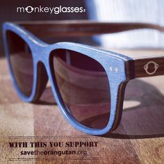 a1d36d8aed3 Instagram Post by Sustainable Eyewear ( monkeyglasses)