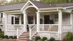 Ranch Home Porches Add Appeal And Comfort Pinterest