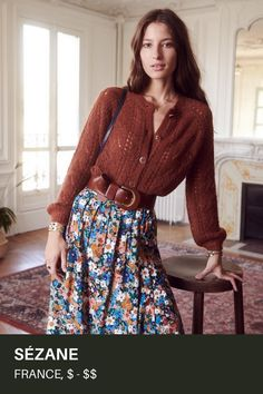 This French brand has all the looks of autumn - Mode Inspiration Modest Fashion, Boho Fashion, Vintage Fashion, Fashion Outfits, Womens Fashion, Fashion Trends, Style Fashion, Feminine Fashion, Ethical Fashion