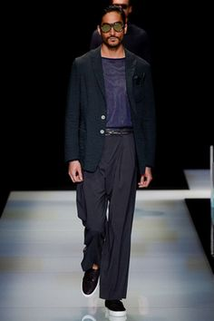 Giorgio Armani Spring 2016 Menswear Fashion Show: Complete Collection - Style.com