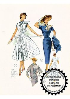 Lutterloh Books and Tools: Free Download of some vintage patterns on EBOOKEE!