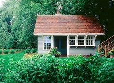 Small guest cottage.