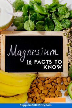 Best Magnesium Supplement, Magnesium Supplements, True Health, Health Facts, Magnesium Benefits, Health Benefits, Magnesium For Sleep