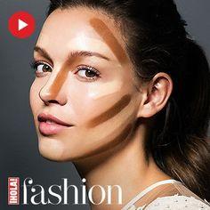 Sigue este sencillo paso a paso para conseguir un rostro esculpido.