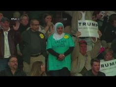 Muslim Woman & Jewish Man Booted from Trump Rally for Silent Protest Against Islamophobia - YouTube