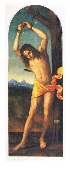 Francesco Zaganelli - Saint Sebastian | Pinacoteca Nazionale, Ferrara, Italy