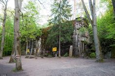 The Wolf's Lair, located in the Masurian woods, was one of Hitler's key military headquarters during the war