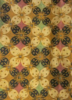 Textiil - Solo Sogan #Batik - Flowers